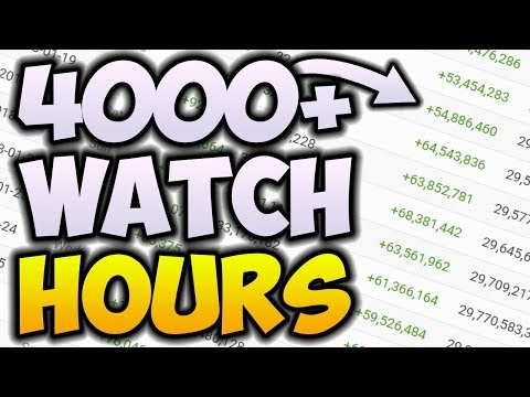 How To Get 1000 Subscribers AND 4000 Watch Time Hours FAST! 🚀 YouTube Monetization UPDATE (2018)