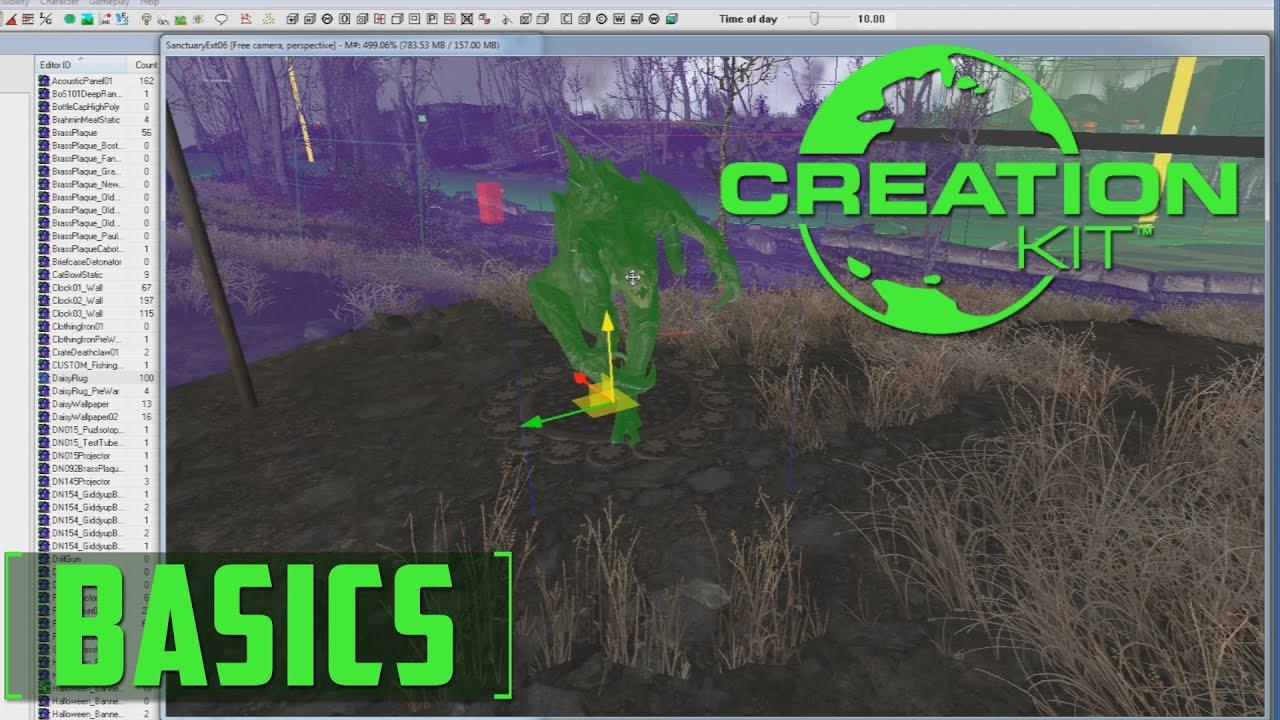Creation Kit - Fallout 4 - The Basics