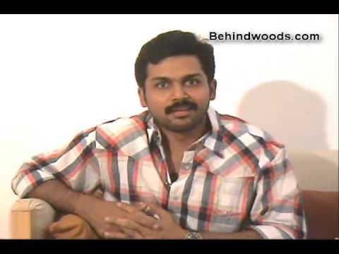 Karthi Personal interview