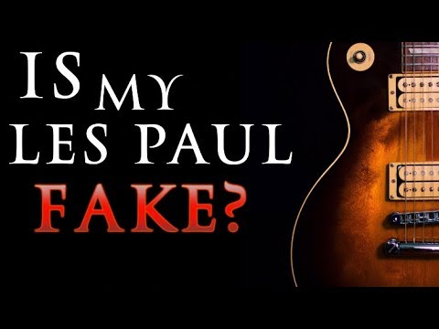 Is My Vintage Les Paul A Fake Chibson?!