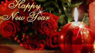 Happy New Year 2018 Red Roses