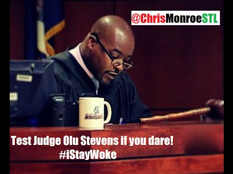 White guy calls black Judge a Nigger in court - Justice on the spot! Judge Olu Stevens