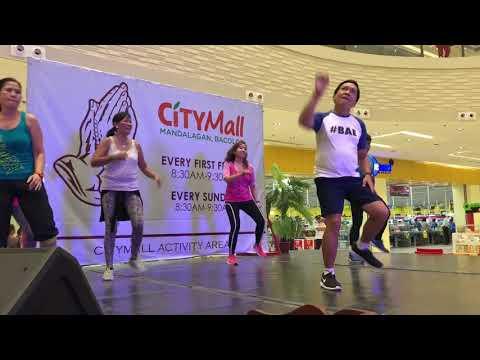 Zumba @ CityMall Mandalagan - Zumba Papa (Achy Breaky Heart)