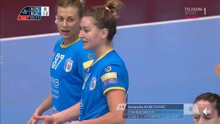 Rostov Don - CSM Bucuresti first half away match CL