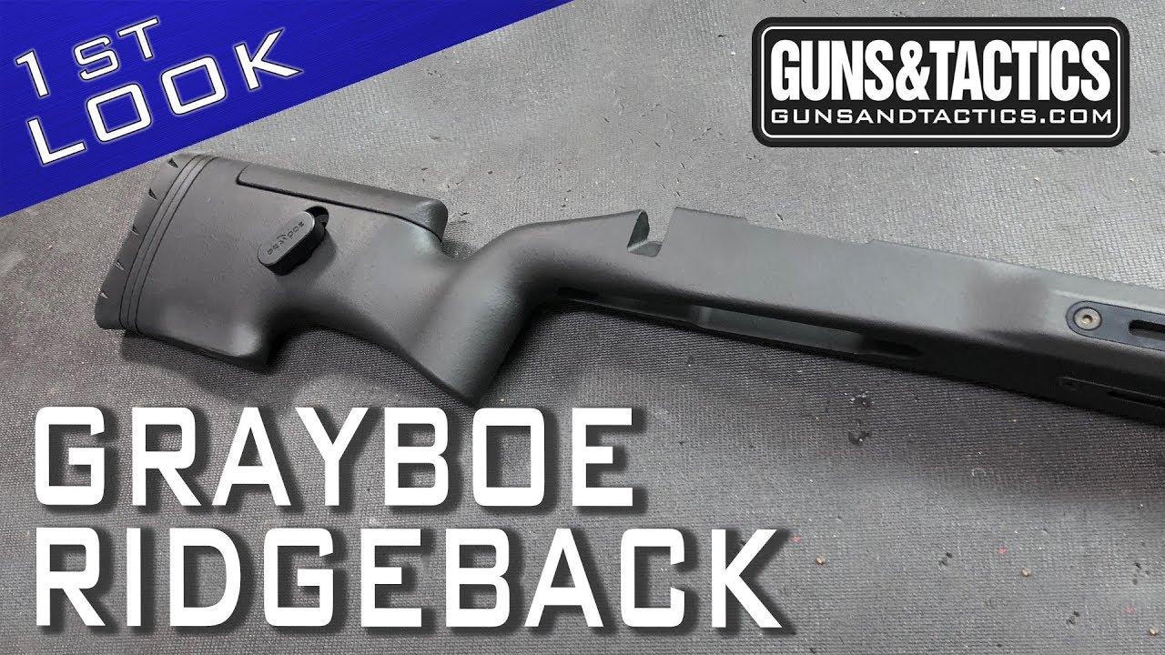 First Look at the Grayboe Ridgeback Stock
