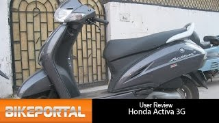 Honda Activa 3G User Review - BikePortal