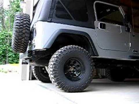 Banks Cat Back Exhaust Jeep Tj