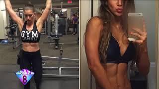 21 Yaşındaki Fitness Eğitmeni Kusursuz Güzelliği Ve Kaslı Vücuduyla Fenomen Oldu