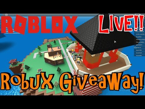 Roblox Saturdays!   Live Stream #31   Roblox   FREE Robux Giveaway!(DONE)