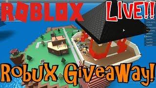 sabato Roblox! | Live streaming #31 | Roblox | Giveaway di Robux gratis! (FATTO)