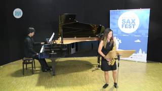 CHRISTINA SCAGLIARINI – ELIMINATORY ROUND – I ANDORRA INTERNATIONAL SAXOPHONE COMPETITION 2014