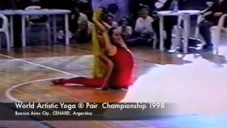 Artistic Yoga™ Pair Champs, World Yoga Championship 1998, Yoga Artistico ®
