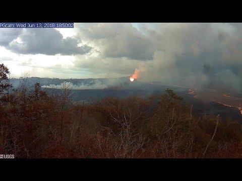 24/7 Kilauea Live 🌋USGS Hawaii Kilauea Volcano Eruption USGS Cams & Live Earthquake Map