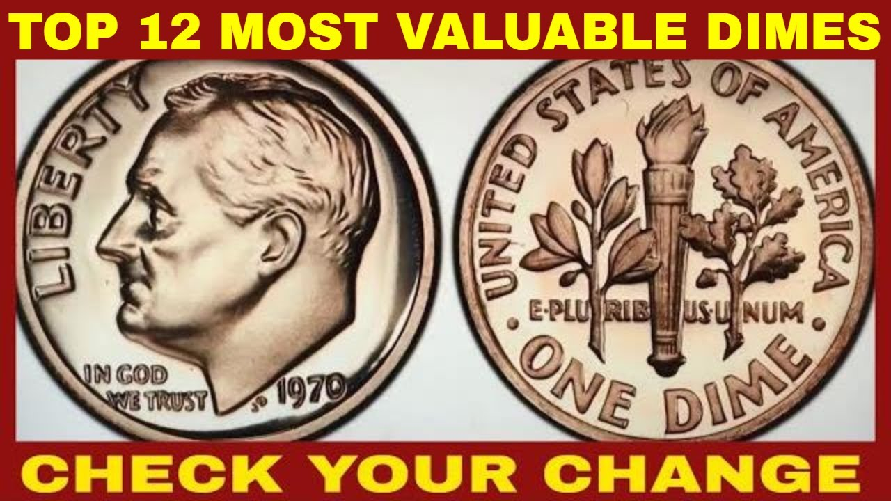 TOP DOZEN RARE & MOST VALUABLE MODERN DIMES YOU CAN FIND IN YOUR POCKET  CHANGE