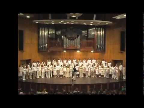 ''Wildsbok'' (Psalm 42) By World Youth Choir 2007 In South Africa