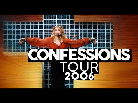 O show mais bonito do POP  CONFESSIONS TOUR Review turnês Madonna