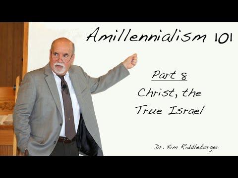 Amillenialism 101 - Christ, The True Israel
