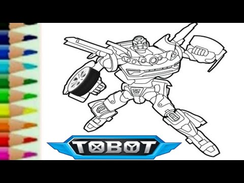 Tobot Z Transformers Carbot Belajar Menggambar Kartun Robot Mobil Lucu 또봇 Youtube