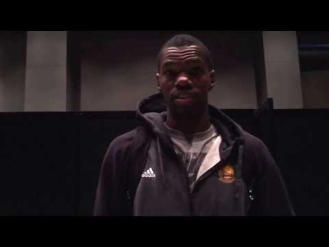 "Dewayne Dedmon on his putback dunk: ""I had to eat that one up"""