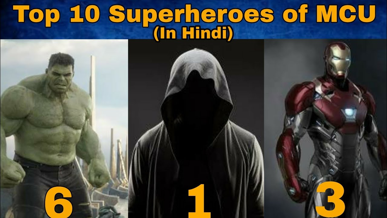 Top 10 most powerful superheroes 51