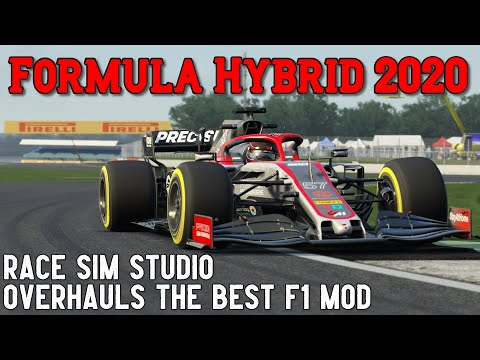 2020 - My Favourite Formula Hybrid Yet! (Assetto Corsa Mod)