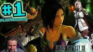 Return to the trilogy! Opening to Meeting Pulse - FFP Plays: Final Fantasy XIII | Pt 1 (PC)