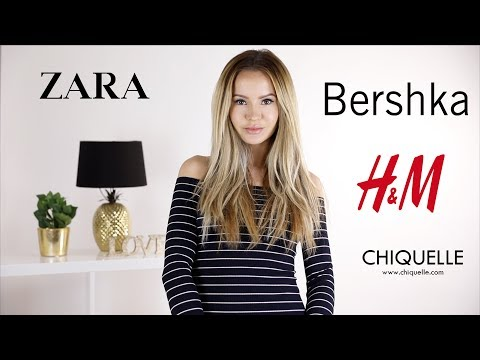 Chiquelle, Zara, Bershka, H&M   Fashion HAUL   PatrycjaPage thumbnail