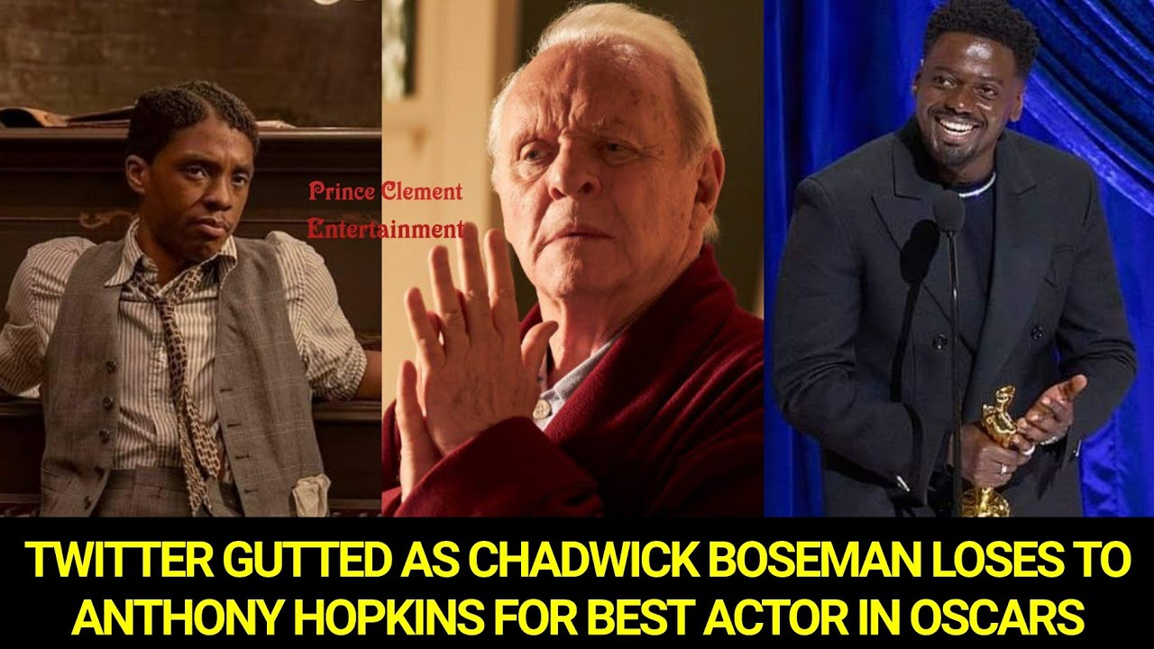 Chadwick Boseman Loses Best Actor Oscar To Anthony Hopkins
