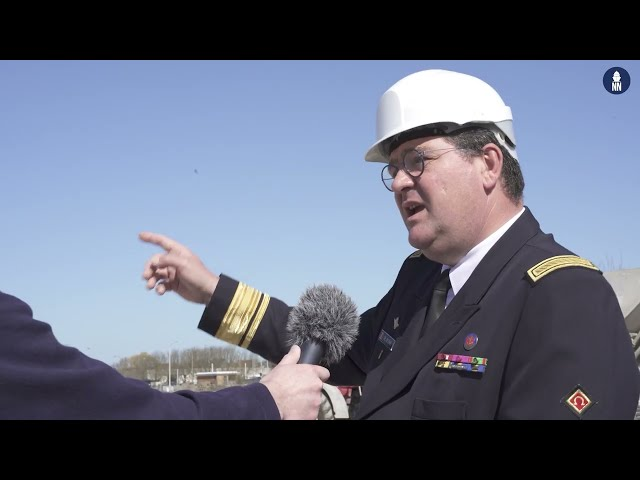 Interview with Admiral de Beurme on Belgian Navy MCM and Frigate programs