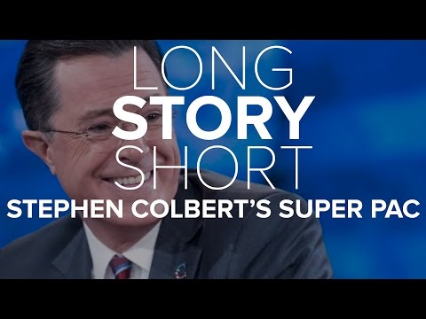 Stephen Colbert's Super PAC Lessons | Long Story Short | NBC News