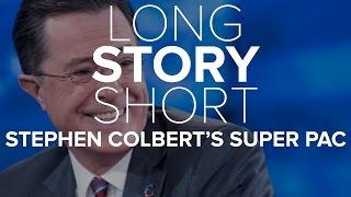 Stephen Colbert's Super PAC Lessons | Long Story Short | NBC News