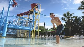 SNEAKING INTO A CLOSED WATERPARK! by : Tanner Fox