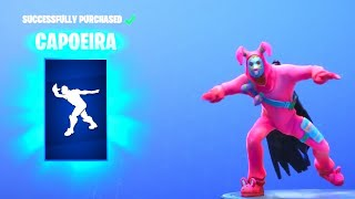 "*NEW* Fortnite: ""CAPOEIRA"" Emote! - Fortnite Daily Item Shop 