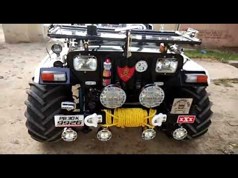 Punjab jeep modified mandi dabwali