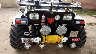 Punjab jeep modified mandi dabwali