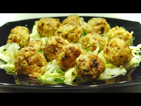 chicken-rice-balls-|-asian-recipes-|-recipes-are-simple