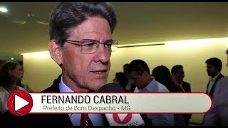 PREFEITO DE BOM DESPACHO – MG, FERNANDO CABRAL, DENUNCIA GOVERNO DE MINAS GERAIS VIA 'AMM'