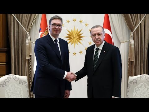 Cumhurbaşkanı Erdoğan ile Vucic ortak basın toplantısı düzenliyor
