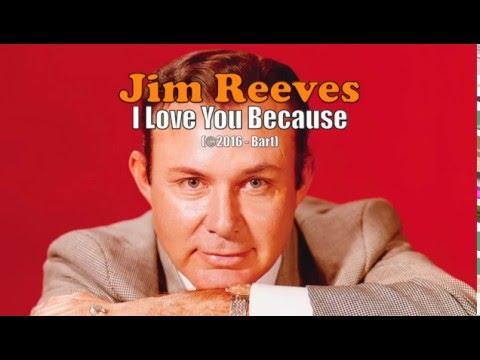 Jim Reeves - I Love You Because (Karaoke)