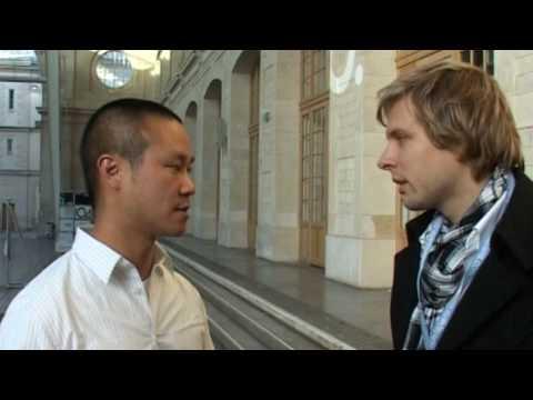 Zappos CEO Tony Hsieh im Interview bei VentureTV.de