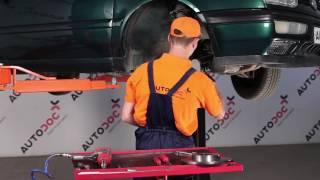 Udskiftning af Bremseskiver VW GOLF: værkstedshåndbog