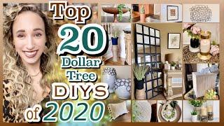 20 DOLLAR TREE DIYS // ROOM & HOME DECOR DIY CRAFT IDEAS!