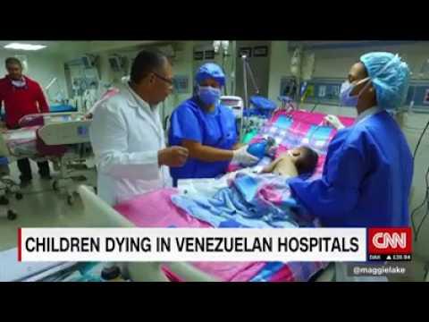 ninos mueren en venezuela por falta de medicinas