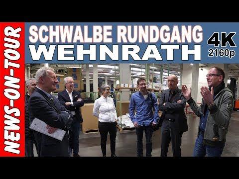 SCHWALBE Wehnrath Rundgang (4k) Fahrradreifen Unplattbar +Firmengeschichte Ralf Bohle GmbH 28.3.2018