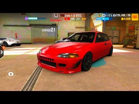 CSR 2 Civic 1.5 VTEC Tune