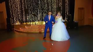 Первый танец жениха и невесты.