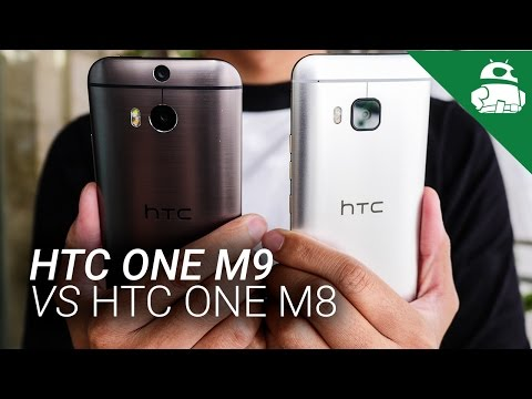 HTC One M9 vs HTC One M8 - Quick Look