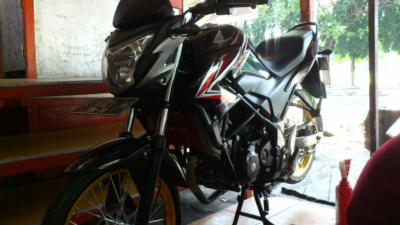 106 Modifikasi Motor Cb 150 R Ban Kecil Modifikasi Motor Honda CB