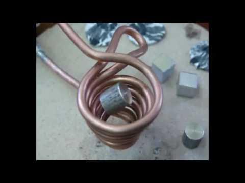 Melt Metal With Magnet