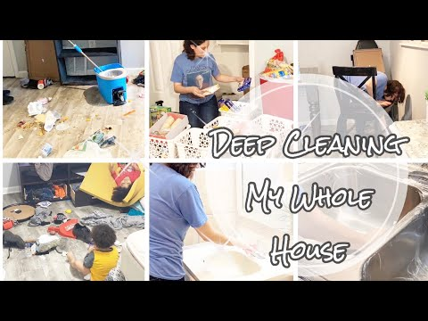Clean The Whole Messy House With Me || Major Cleaning Motivation || Speed Cleaning No Talking